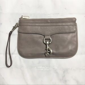 Rebecca Minkoff Skinny MAC Wristlet in Charcoal